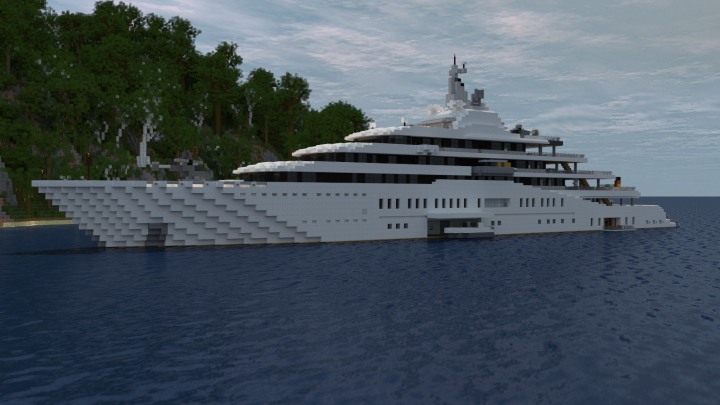 Eclipse Megayacht Full Interior 1 1 Scale Minecraft Project