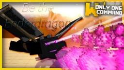 BE THE ENDER DRAGON with only one command block! - Ender dragon disguise Minecraft