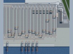 Euromax Terminal Rotterdam (project Maasvlakte) Minecraft Map & Project