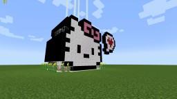 Hello Kitty 8bit Minecraft Home Free Schematic For Download Zog Build 3 Minecraft Map