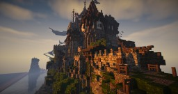 MEDITERRANEAN CASTLE BADBUILDER AND IRONFARMER Minecraft