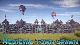 Medieval Town Spawn [1.7 - 1.14] Minecraft Map & Project