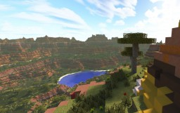 Mesa Cliffs Custom Terrain by TylerTimoJ Minecraft Map & Project