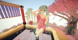 Hatsune Miku - Hot Spring Minecraft Map & Project