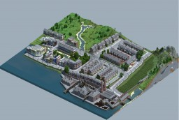Carville: Industrial city (1900-1930) + Custom Terrain.-DOWNLOAD!!! Minecraft Map & Project