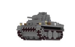 MK-1 light tank(original battle tank) Minecraft