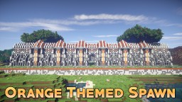 Orange Themed Faction Spawn [1.7 - 1.14] Minecraft Map & Project