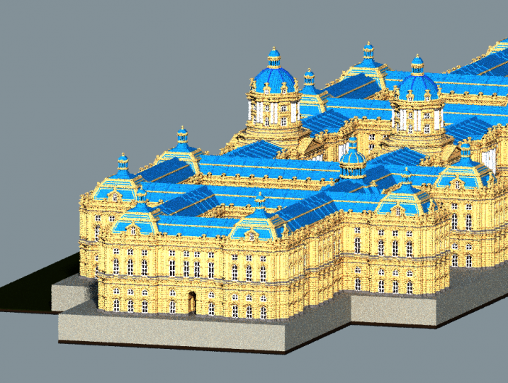 mine craft castle baroque imperial palace minecraft project 2443