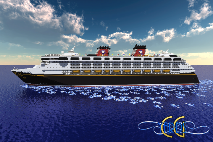 Disney Wonder Scale Replica Download FullInterior First - Mcmagic us map download
