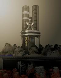 Futuristic Tower Minecraft