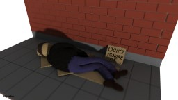 Homeless but stay human Minecraft Project