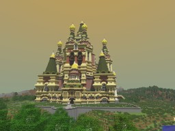 кафедральный собор -- Russian Cathedral Minecraft Map & Project