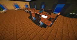 [showroom/template] Vanilla furniture for livingroom Minecraft 1.8.x + download Minecraft Project