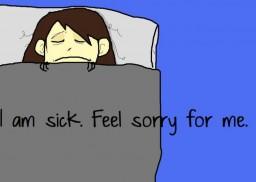 Being Sick Sucks! Minecraft Blog Post