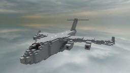 Boeing C-17 Globemaster III 1:1 Scale Minecraft Map & Project