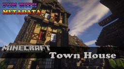 Minecraft: Medieval Town House Minecraft