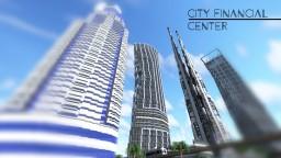 City financial centre   skyscraper Minecraft Map & Project
