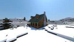 Quick Log home build