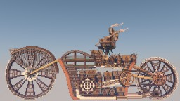 Motorbike City Steampunk Minecraft Project