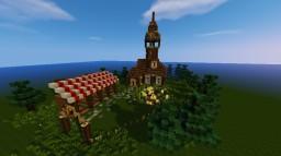 Small Farmhouse Minecraft Map & Project