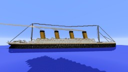 RMS Titanic V1 1:1 [Full Interior] Minecraft Project