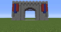 Large Castle Gate 1.8 Command Blocks! Minecraft Map & Project