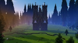 Gothic Cathedral [wip feedback wanted on style] Minecraft Map & Project