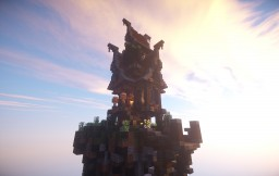 Steampunk-House #4 (with hot air balloon port) Minecraft Map & Project