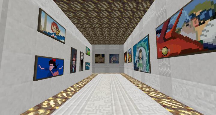Studio Ghibli pixel art