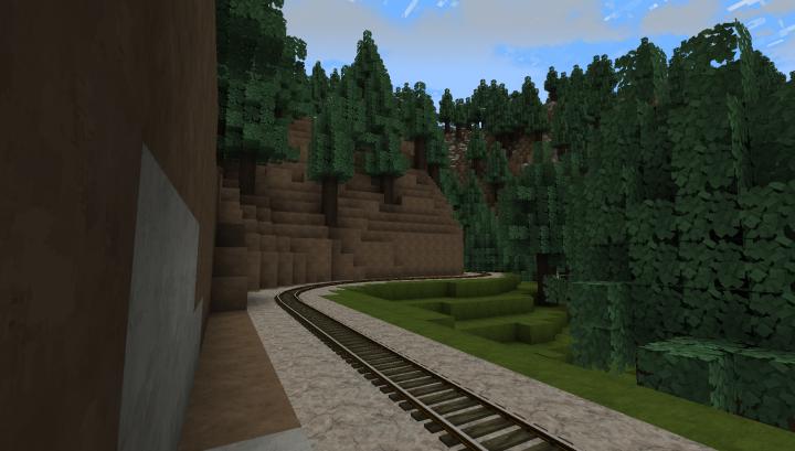 Tracks in the Sierras