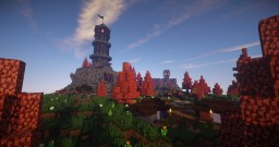 Cliff Cove [TROT] Autumn Themed Isle Minecraft Map & Project