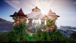 Epic faction spawn - Witch City + free download Minecraft Map & Project