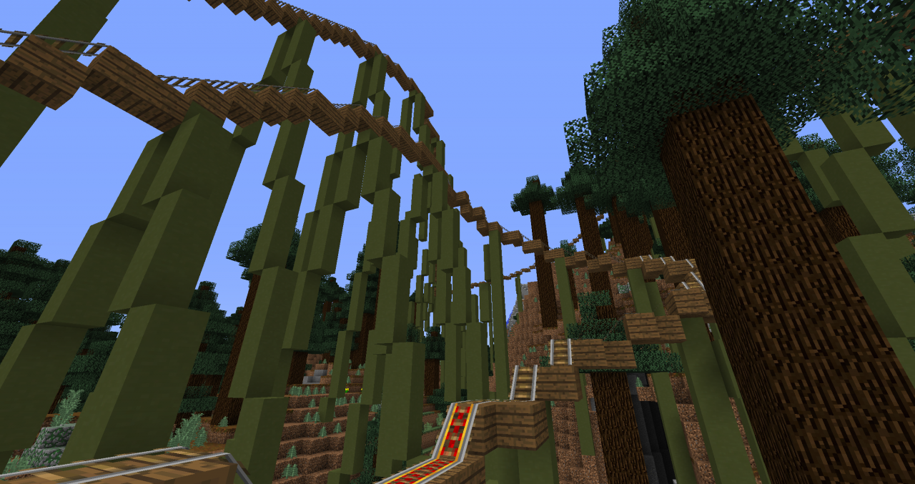 Rollercoaster Pinewood Valley Download[1.8.9 ...