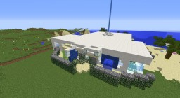 Aquamarine Mansion Minecraft Project