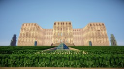 Presidential Palace of Estania Minecraft Project