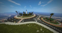 Union Square (Roundabout) - Santa Clara [OperationRealism] Minecraft