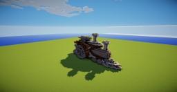 steam punk locomotive Minecraft Project