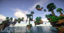 Andys Survival Islands : Jungle Minecraft Project