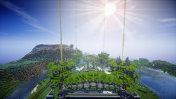 Hanging gardens Faction spawn Minecraft Map & Project