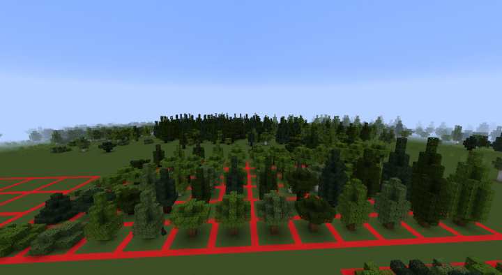 The medium trees