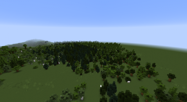 The small trees layer