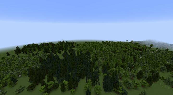 The medium trees layer