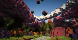 =-Realm of Spring-= [Organic Build - Spawn] Minecraft Map & Project