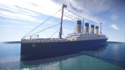 RMS Titanic + download Minecraft