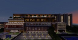 Concert Arena Music Dome Minecraft Map & Project