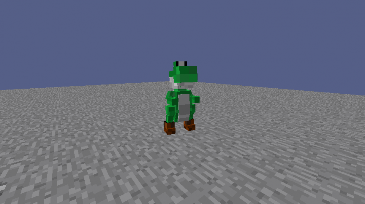Yoshi test model.