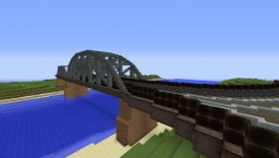 Improved Hot Metal Bridge - A Modded Build Minecraft Project