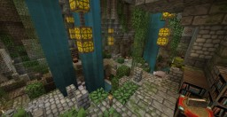 Faction Survival Base Minecraft Map & Project