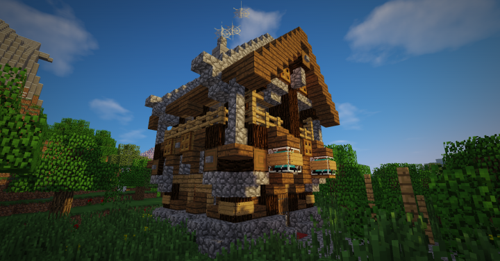 Steelorsehouse Edit Medieval Minecraft Project