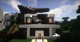 Modern luxury house Minecraft Project